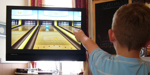 Haven Guest House, Blackpool, Playing on the Wii