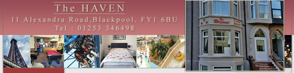 Home / / - Haven Guesthouse - Blackpool - UK